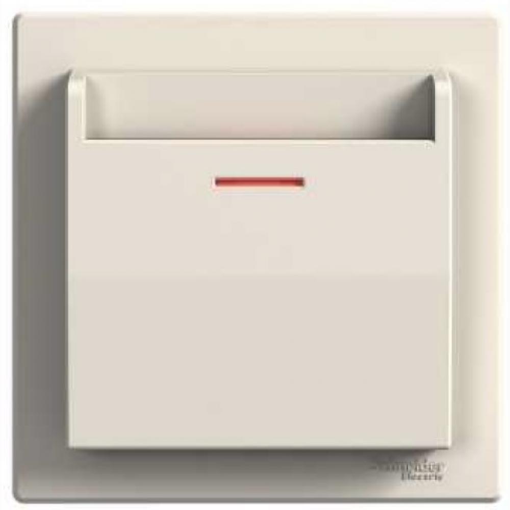 Вимикач картковий електричний крем (ASFORA)
