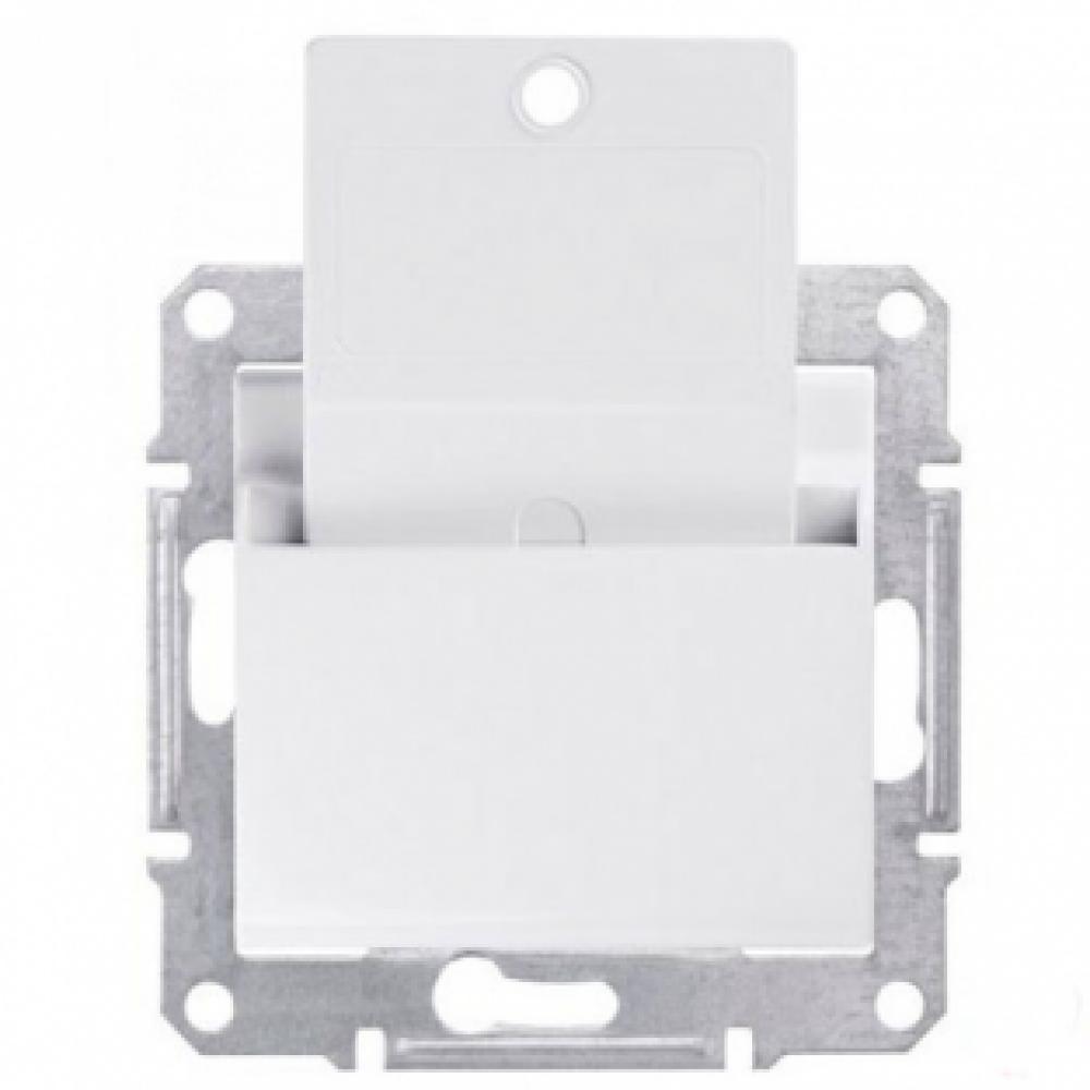 Выключатель карточный белый (SEDNA)