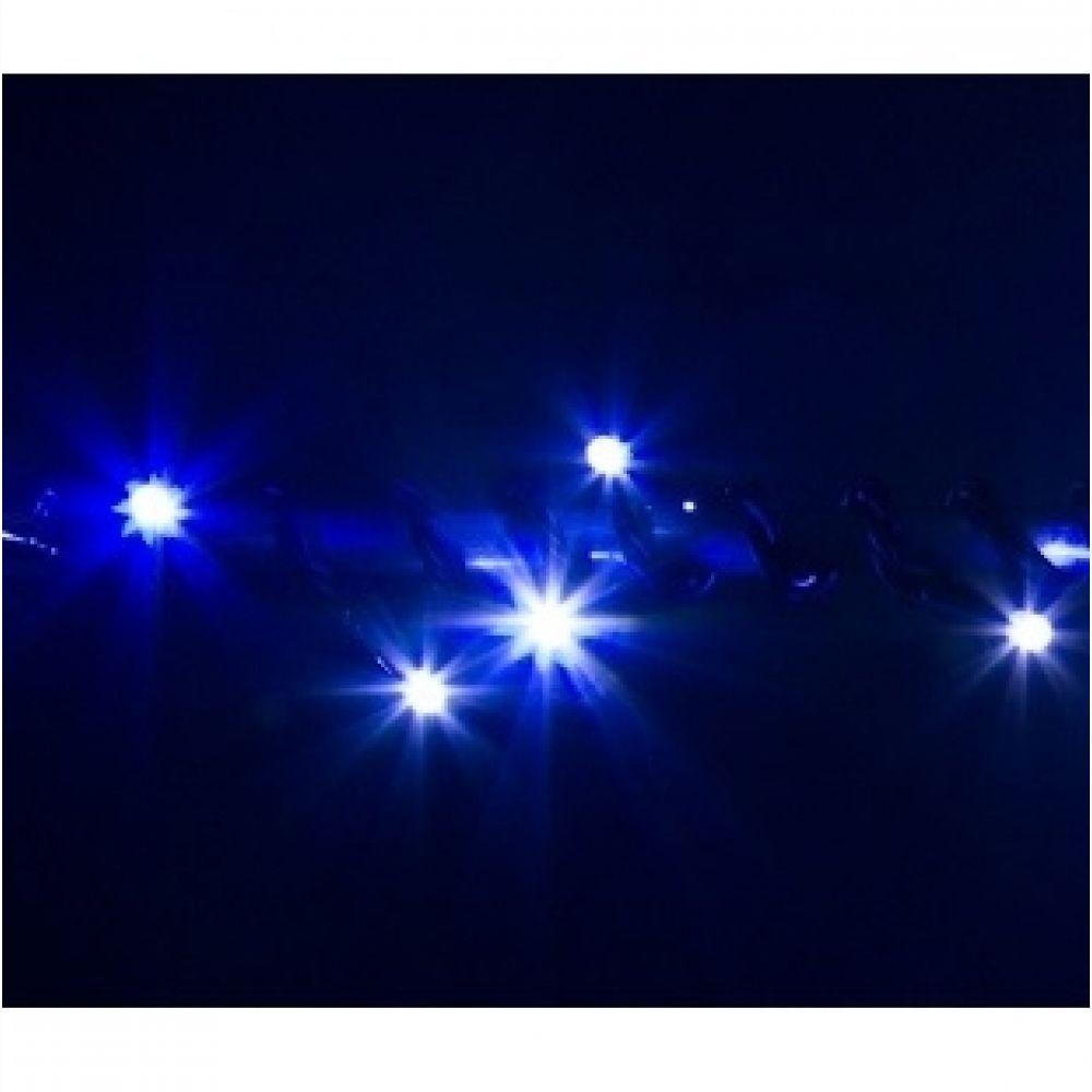 Гірлянда VENOM String 10м (Нитка) 100LED BI-COLOR синій і тепло-білий (LEDPLR-100WWBL-BI COLOR FLASHING)