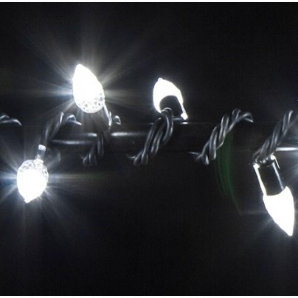 Гирлянда VENOM СRYSTAL String 10м (Нить) 100LED белый (LEDPLR-100-BKWH-Strawberry-EXTRA)