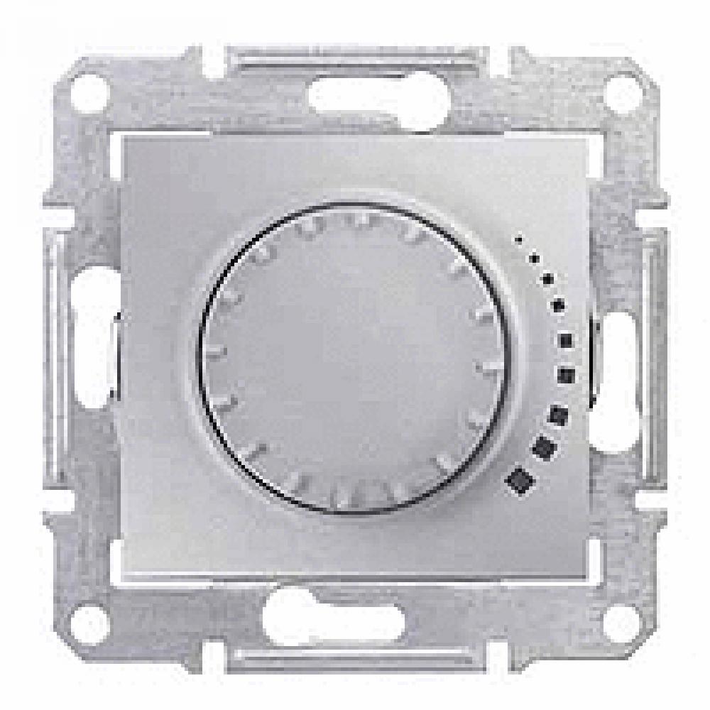 Диммер проходной алюминиевый 1000VA (SEDNA)