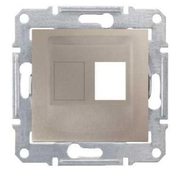 Адаптер для коннекторов АМР одиночный титан (SEDNA)