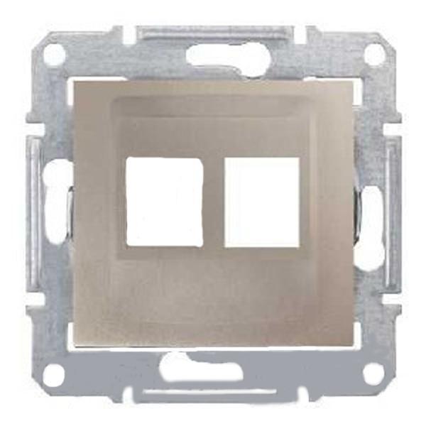 Адаптер для коннекторов АМР двойной титан (SEDNA)