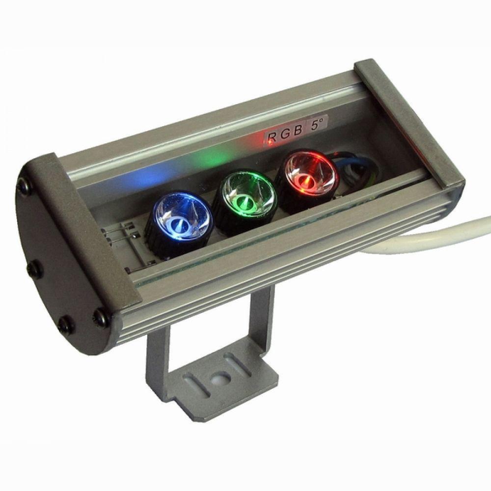 Линейный светодиодный прожектор LS Line-3-20-03-C IP20 RGB 175мм (03С)