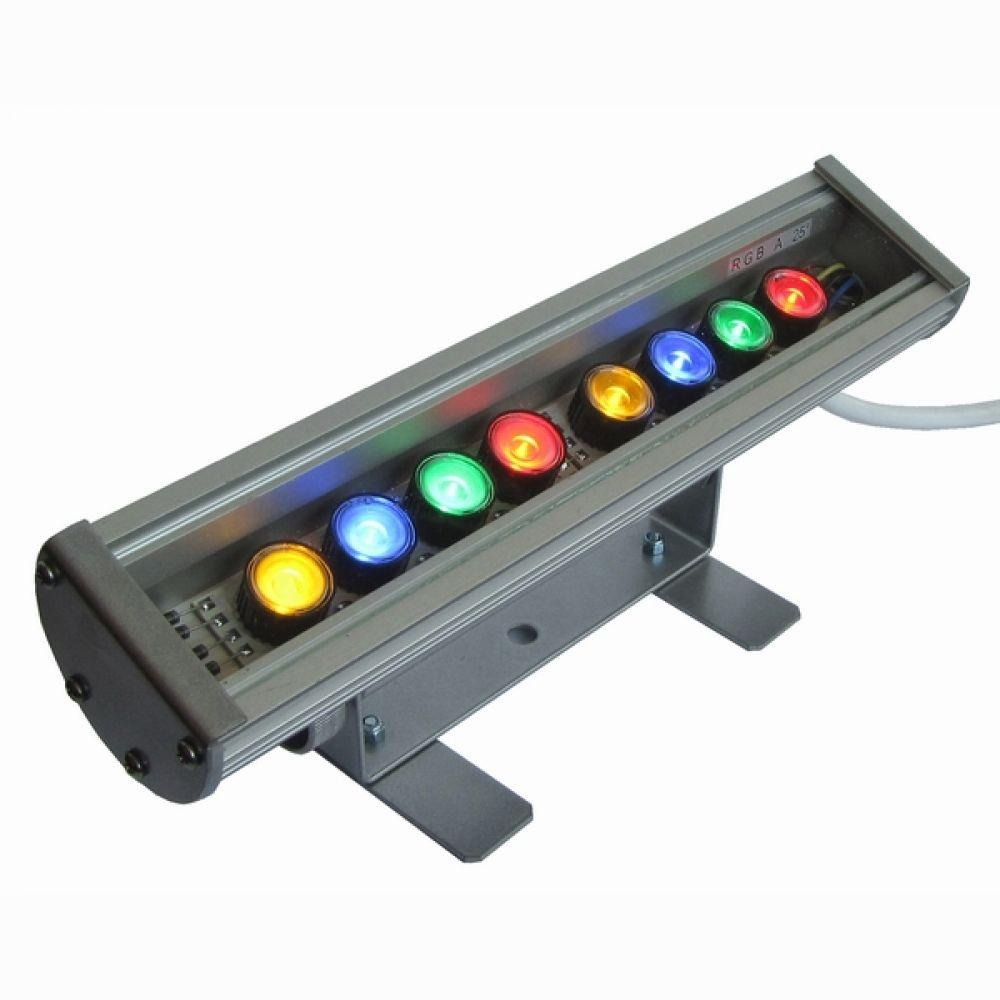 Линейный светодиодный прожектор четырехцветный LS Line-4-65-08-C IP65 291мм (08С)