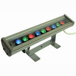 Линейный светодиодный прожектор IP20 RGB 345мм (09С)