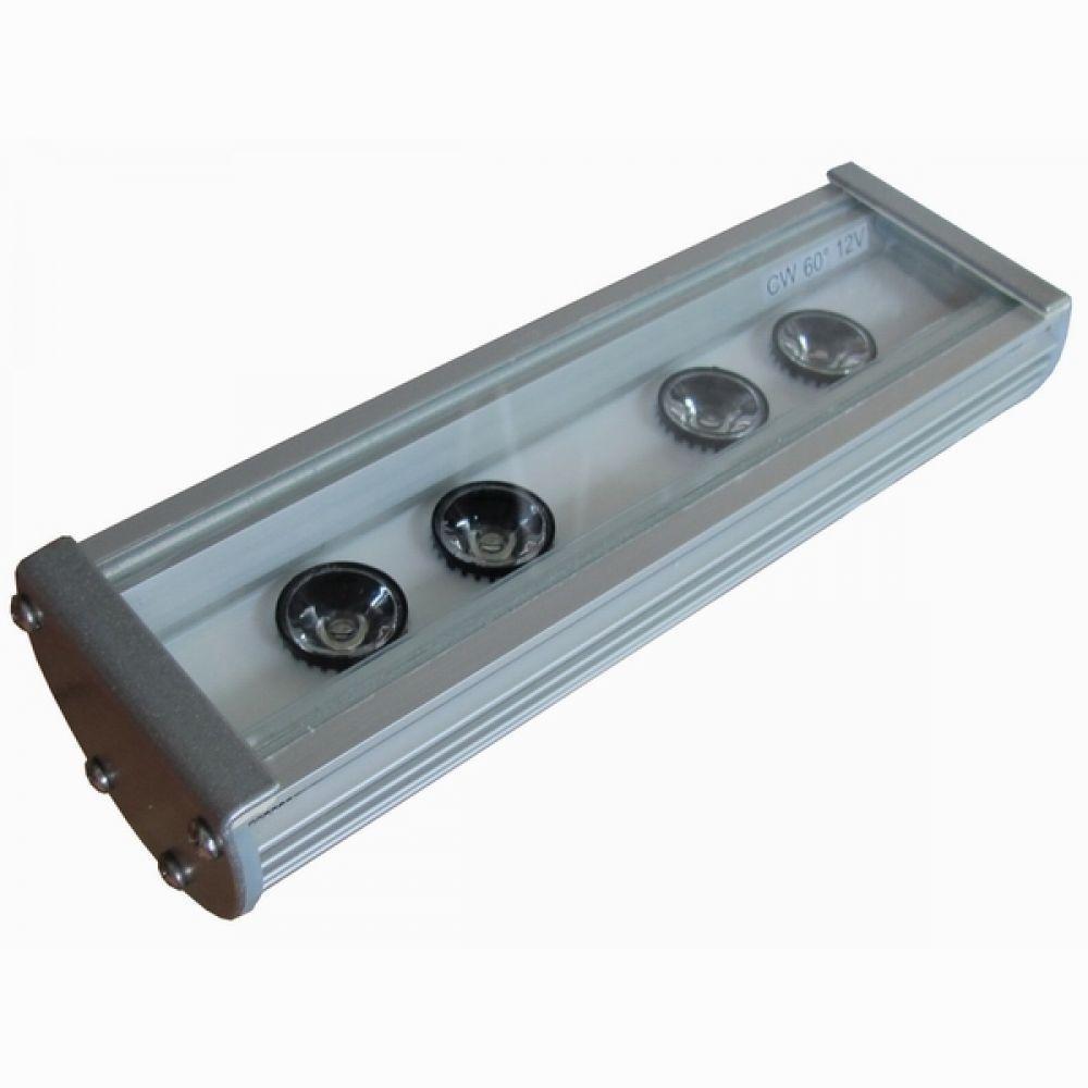 Лінійний світлодіодний прожектор LS Line-1-65-04-C-12V IP65 196мм (04С)