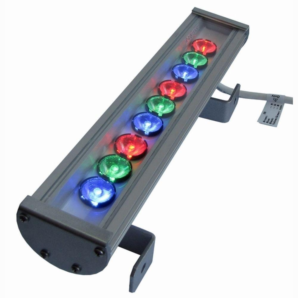 Линейный светодиодный прожектор LS Line-3-65-09-C IP65 RGB 345мм (09С)