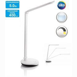 Светильник настольный Philips Lever LED 5W Silver