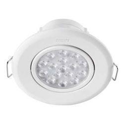 Светильник точечный встраиваемый Philips 47040 LED 5W 2700K  White