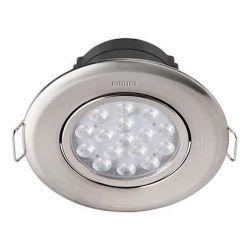 Светильник точечный встраиваемый Philips 47041 LED 5W 4000K  Nickel