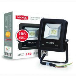 Светодиодный прожектор Maxus 10 Вт SMD (1-MAX-01-LFL-1050)