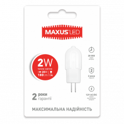 LED лампа 2W G4 12V (арт. 1-LED-207)