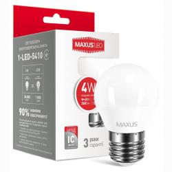 LED лампа G45 4W 220V E27 (арт. 1-LED-5410)