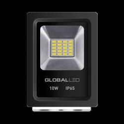 LED ПРОЖЕКТОР GLOBAL FLOOD LIGHT 10W 5000K ХОЛОДНЫЙ СВЕТ (1-LFL-001)