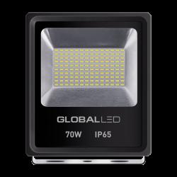 LED ПРОЖЕКТОР GLOBAL FLOOD LIGHT 10W 5000K ХОЛОДНЕ СВIТЛО(1-LFL-005)