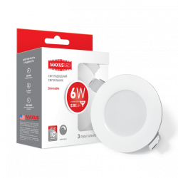Точечный LED светильник MAXUS SDL mini,6W яркий свет (1-SDL-004-01-D)