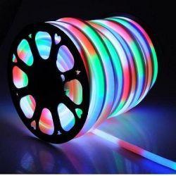 Світлодіодний неон Venom круглий SMD 2835 120д.м. (IP67) 220V (VPN-2835120220R-RGB) RGB