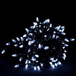 """Гірлянда """"Провідна"""" Свічка 100Led, білий дріт (.LS-100W-2)"""