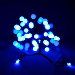 Гірлянда світлодіодна VENOM 100LED, чорний провід (LS-LED-100LED-BC-B) Синій