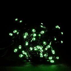 Гирлянда светодиодная VENOM 100LED, черный провод (LS-LED-100LED-BC-G) Зеленый