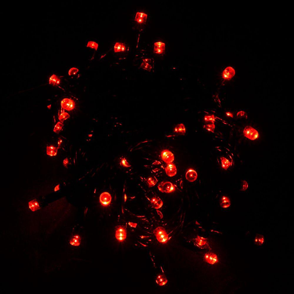 Гирлянда светодиодная VENOM 100LED, черный провод (LS-LED-100LED-BC-R)