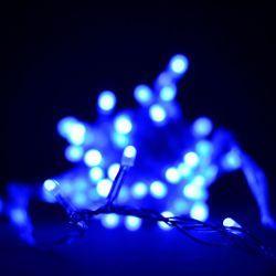 Гирлянда светодиодная VENOM 100LED, синий провод (LS-LED-100LED-BLC)
