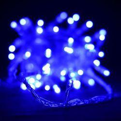 Гірлянда світлодіодна VENOM 100LED, білий провід (LS-LED-100LED-WC-B) Синій