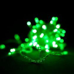 Гірлянда світлодіодна VENOM 100LED, білий провід (LS-LED-100LED-WC-G) Зелений