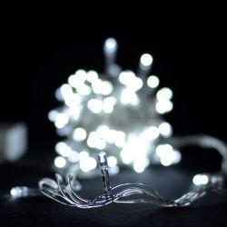 Гірлянда світлодіодна VENOM 100LED, білий провід (LS-LED-100LED-WC-W)