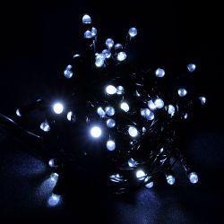 """Гирлянда светодиодная VENOM """"Линза"""" 100LED, черный провод (LS-LENS-100LED-BC) Белый"""