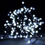 """Гирлянда светодиодная VENOM """"Линза"""" 300LED, черный провод (LS-LENS-300LED-BC)"""