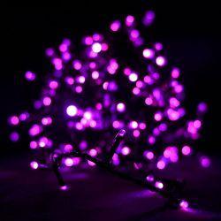 Гирлянда светодиодная VENOM 100LED, черный провод (LS-LED-100LED-BC-P) Розовый