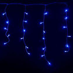 "Гирлянда светодиодная VENOM уличная ""Бахрома"" 100LED, черный провод (LS-FRINGE-100LED-BCK-B)"