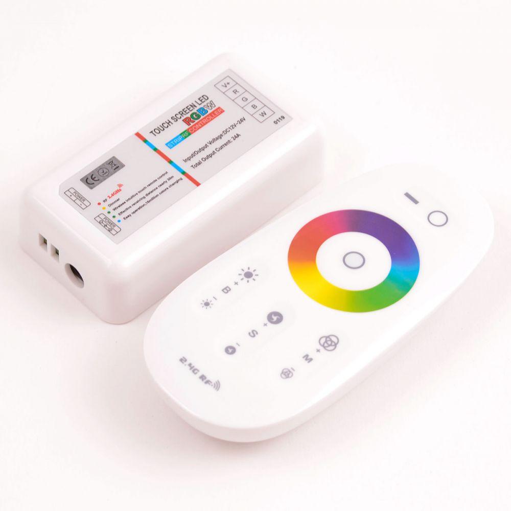 RGBW-контроллер Venom RF радио с пультом, сенсорный (2,4 ГГц)