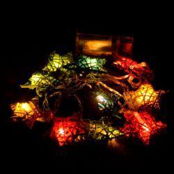 "Гирлянда светодиодная VENOM ""Звезда"" 10LED RGB на батарейках АА, белый провод (LS-B-STAR-10LED-WC-RGB)"