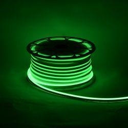 Светодиодный неон Venom SMD 2835 120д.м. (IP67) 12V (VPN-283512012-G) зеленый