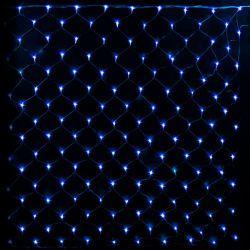 """Гірлянда світлодіодна VENOM """"Сітка"""" 120LED, білий провід (LS-GRID-120LED-WC)"""