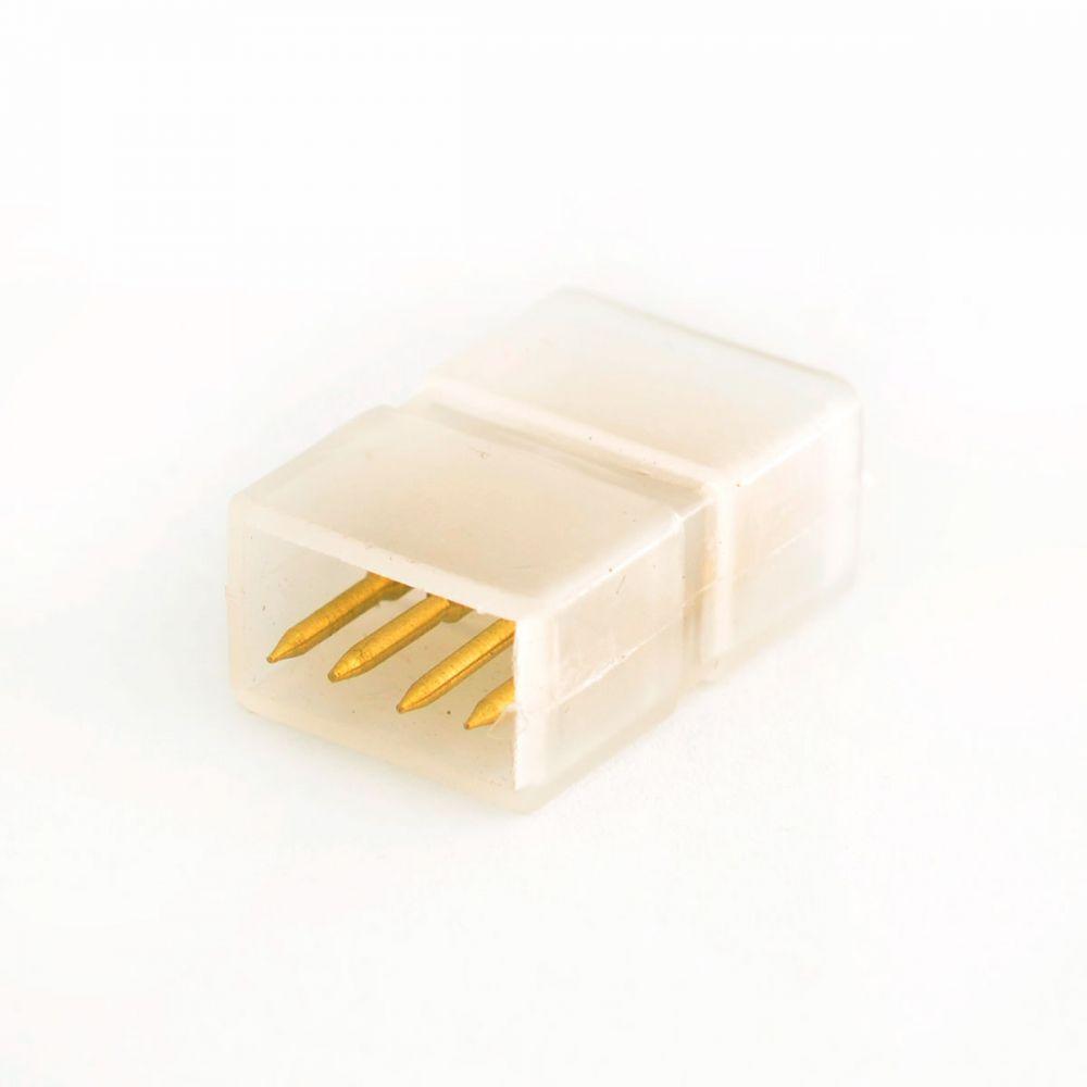 Коннектор для ленты 220В 5050(3chips) (2разъема + 4pin (2шт.)) RGB