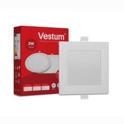 Світильник LED виразний квадратний Vestum 3W 4000K 220V
