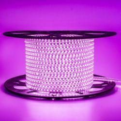 Світлодіодна стрічка Venom SMD 2835 120д.м. (IP67) 220V рожева (VP-2835220120-P)