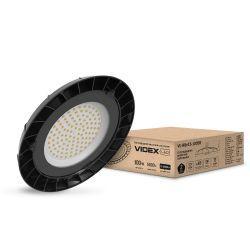 Светильник LED высотный ХайБей VIDEX 100W 5000K черный (VL-HBe15-1005B)