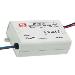 Драйвер Mean Well для светодиодов (LED) 25,2 Вт 24V 1,05 А  APV-25-24