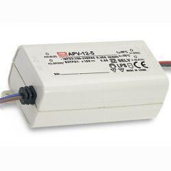 Драйвер Mean Well для светодиодов (LED) 10 Вт 5V 2 А  APV-12-5