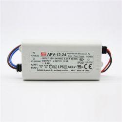 Драйвер Mean Well для светодиодов (LED) 12 Вт 24V 0,5 А  APV-12-24