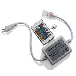 RGB-контроллер Venom RF радио 600W 220V (24 кнопки на пульте)