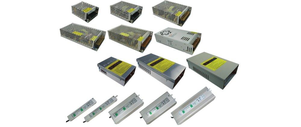 Виды блоков питания для LED лент